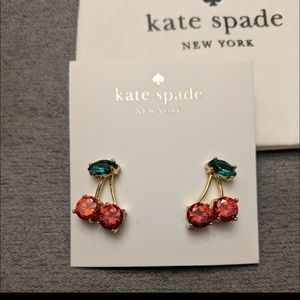 *NEW* Kate Spade Cherry 🍒 earrings
